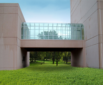 Elevated Glass Walkway