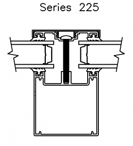 Crystal Structures series 225 glazing system